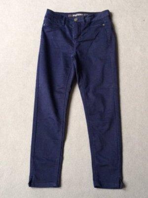 Broadway Pantalon 7/8 bleu coton