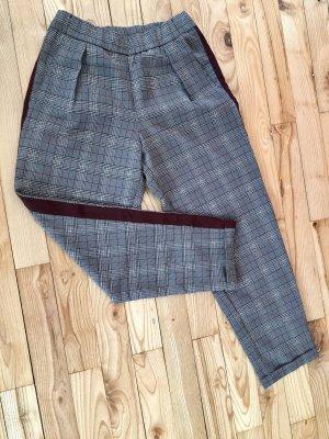 Pull & Bear Pantalone peg-top multicolore Cotone