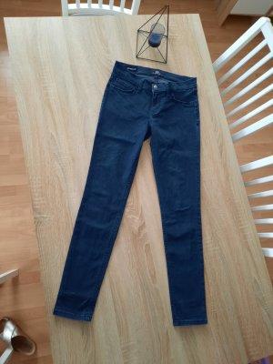 LTB Pantalon strech bleu foncé coton