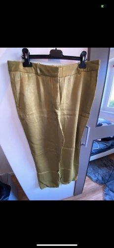 Zara Pantalon à pinces ocre