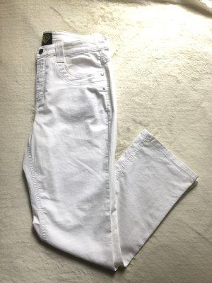 Sarah Kern Five-Pocket Trousers white