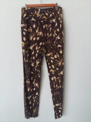 Rocco Barocco Stretch jeans bruin-licht beige Katoen