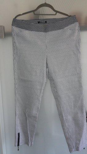 Betty Barclay Jegging blanc-noir coton