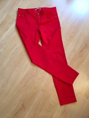 Gaudi Jeans Spodnie z pięcioma kieszeniami czerwony
