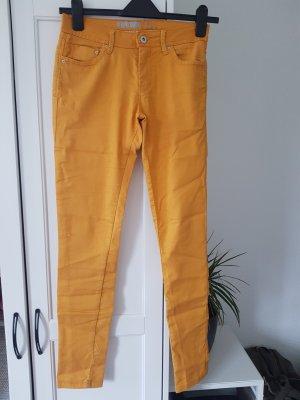 Denim Co. Stretch Trousers gold orange