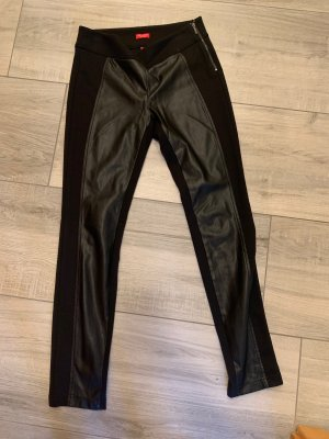 SaHara Leather Trousers black