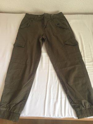 C&A Clockhouse Pantalone cinque tasche grigio-verde