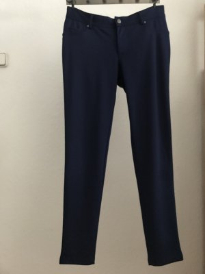 Forever 21 Stretch Trousers steel blue-blue