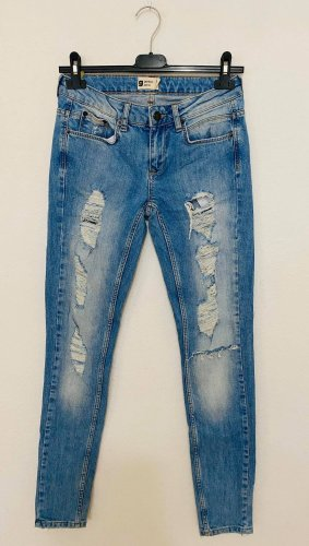 g perfect jeans Pantalon taille haute multicolore