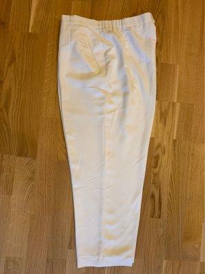 Atelier Gardeur Pantalon en jersey blanc