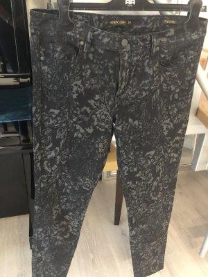 Genetic denim Pantalone cinque tasche multicolore Tessuto misto