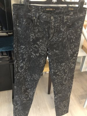 Genetic denim Five-Pocket Trousers multicolored mixture fibre