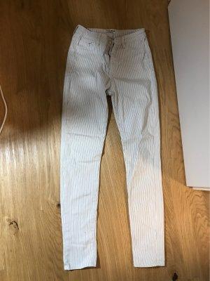 Tally Weijl Pantalon capri blanc-noir