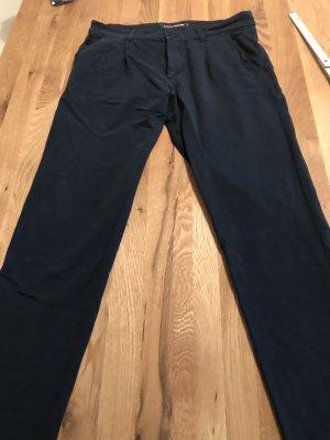 European Culture Pantalón deportivo azul oscuro