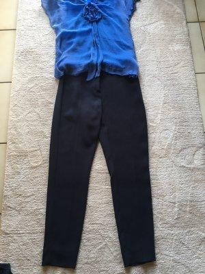 Pennyblack Pantalón elástico azul oscuro Viscosa