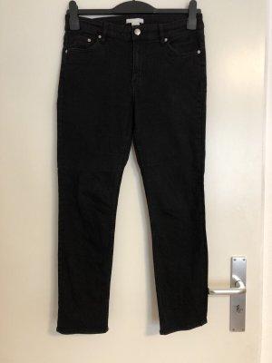 H&M Pantalone elasticizzato nero-grigio scuro