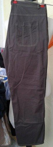 Pantalone a vita bassa bronzo