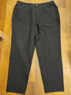 Ascari Wortel jeans zwart