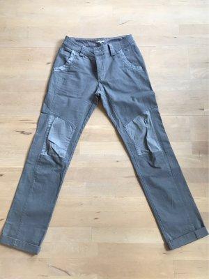 Noa Noa Boyfriend Trousers light grey-grey