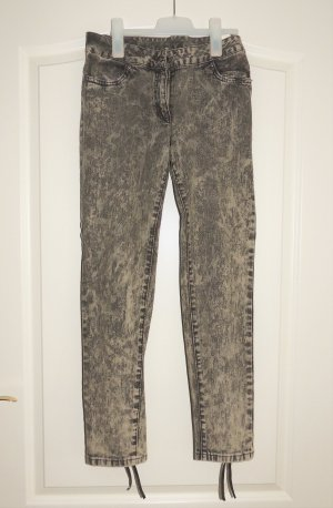 Aniston Pantalón elástico gris-beige claro Algodón