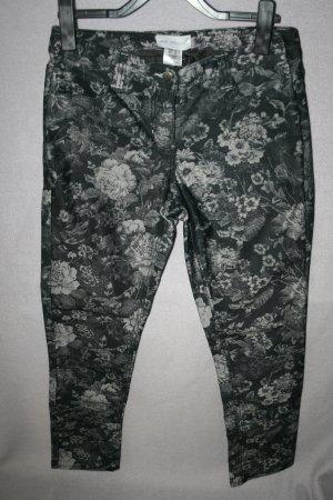 Hose grau Blumenprint von Amy Vermont Gr. 42 - wie neu