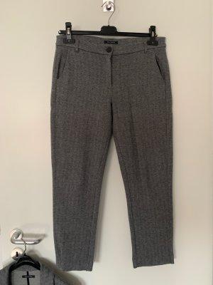 Marc O'Polo Pantalone di lana grigio-grigio chiaro
