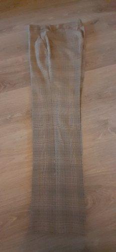 Zara Wełniane spodnie Wielokolorowy