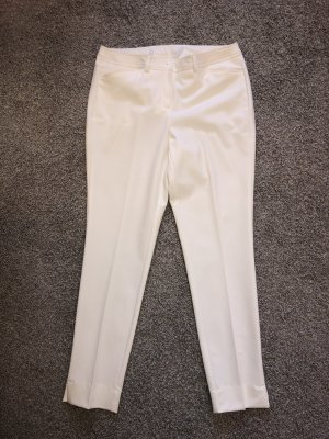 Amy Vermont Pleated Trousers white