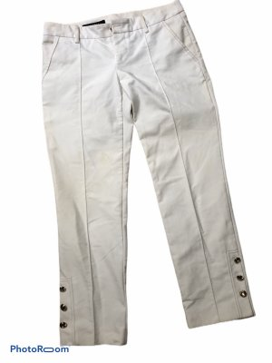 Gucci Low-Rise Trousers white