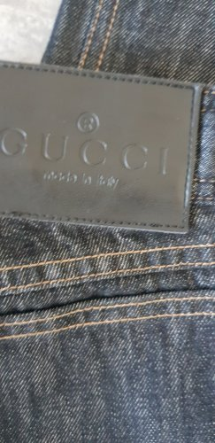 Gucci Jeans boyfriend blu scuro