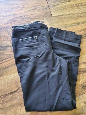 H&M Spodnie garniturowe czarny