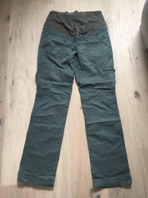 H&M Mama Pantalón de camuflaje caqui-verde oliva