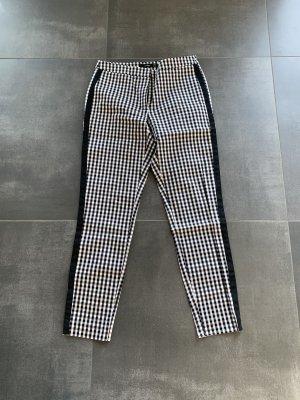 Hallhuber 7/8 Length Trousers white-black