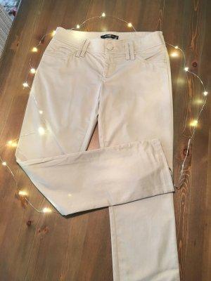 Hallhuber Spodnie materiałowe jasnobeżowy-beżowy