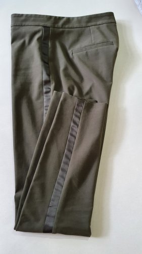 Hallhuber Stretch Trousers olive green