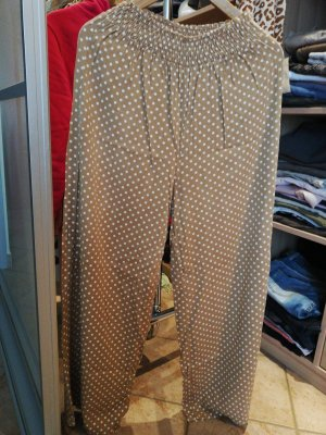 Hally's Marlene Trousers multicolored cotton