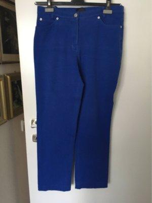 Madeleine Pantalón de cinco bolsillos azul Algodón
