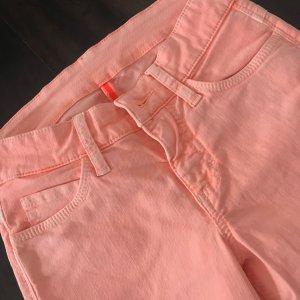 Pantalone elasticizzato albicocca