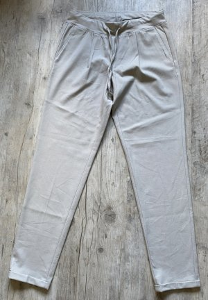 Cambio Peg Top Trousers light grey polyamide