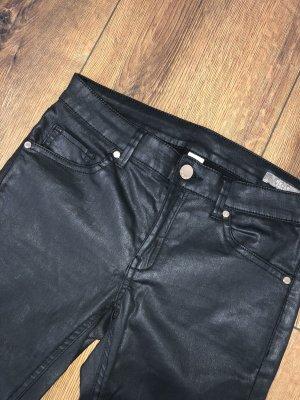 Hose im Lederlook Wetlook Jeans Gr. 32 Xs Xxs