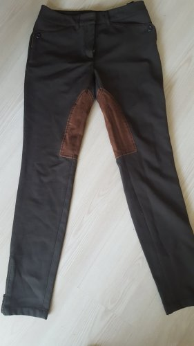 s.Oliver Riding Trousers grey brown viscose