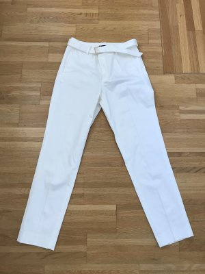 Hallhuber 7/8 Length Trousers white