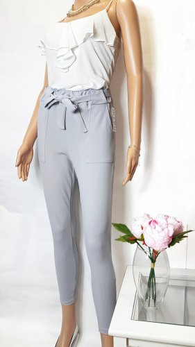 Hose in Grau Highwaist Gr.M/L(XL)38/40