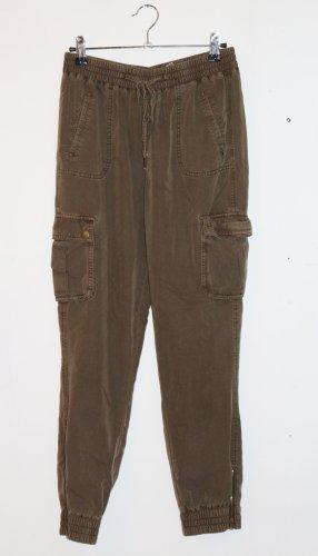 C&A Clockhouse Spodnie khaki zielono-szary