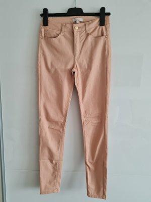 C&A Clockhouse Pantalón de cuero rosa empolvado