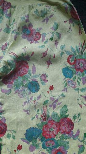 Pantalone di lino multicolore
