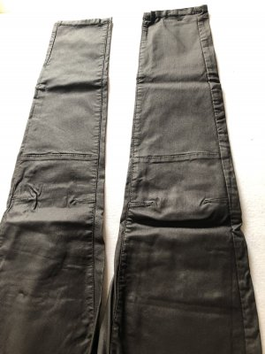 17&co Leather Trousers blackberry-red