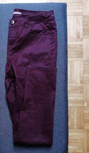 Orsay Pantalón de tubo púrpura