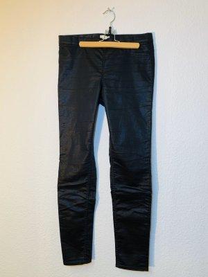 H&M Pantalon taille haute noir