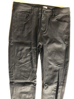 Pimkie Pantalone in pelle nero